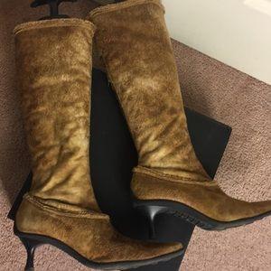 France Mode Caramel Boots